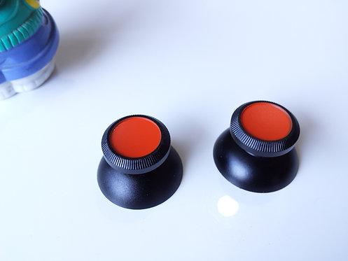 Joysticks pour PS4 XBOX ONE et PS3 ALU noir/orange mate neuf !