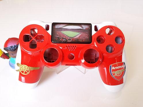 Coque Manette PS4 Custom à l'aérographe !!! Dualshock 4 Sixaxis