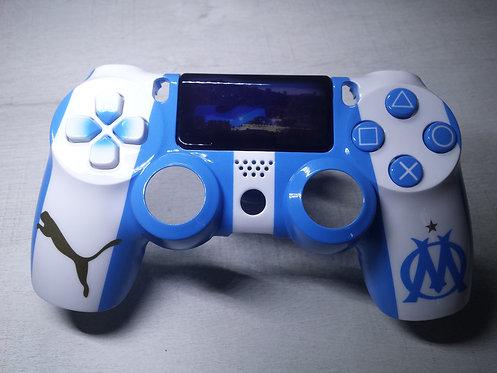 Coque Manette PS4 Custom à l'aérographe !!! Dualshock 4 Sixaxis ! OM