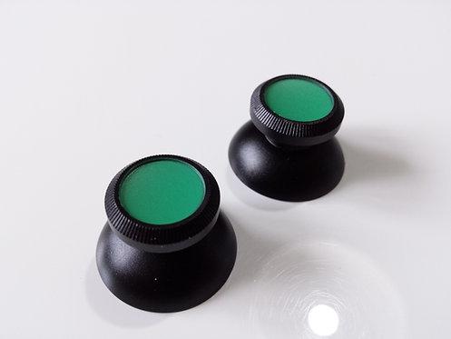 Joysticks pour PS4 XBOX ONE et PS3 ALU noir/vert mate neuf