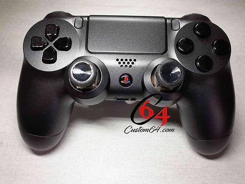 Manette PS4 Custom black anthracite mat