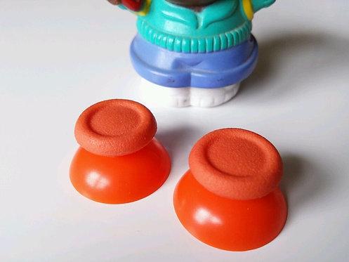 Joysticks x 2 PS4 bouton joystick stick orange neuf !!!