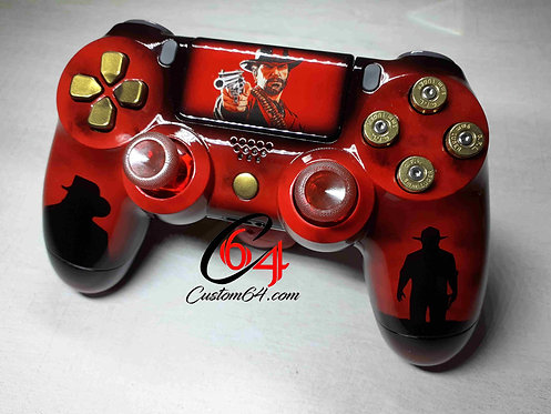 Manette PS4 sony red dead redemption 2