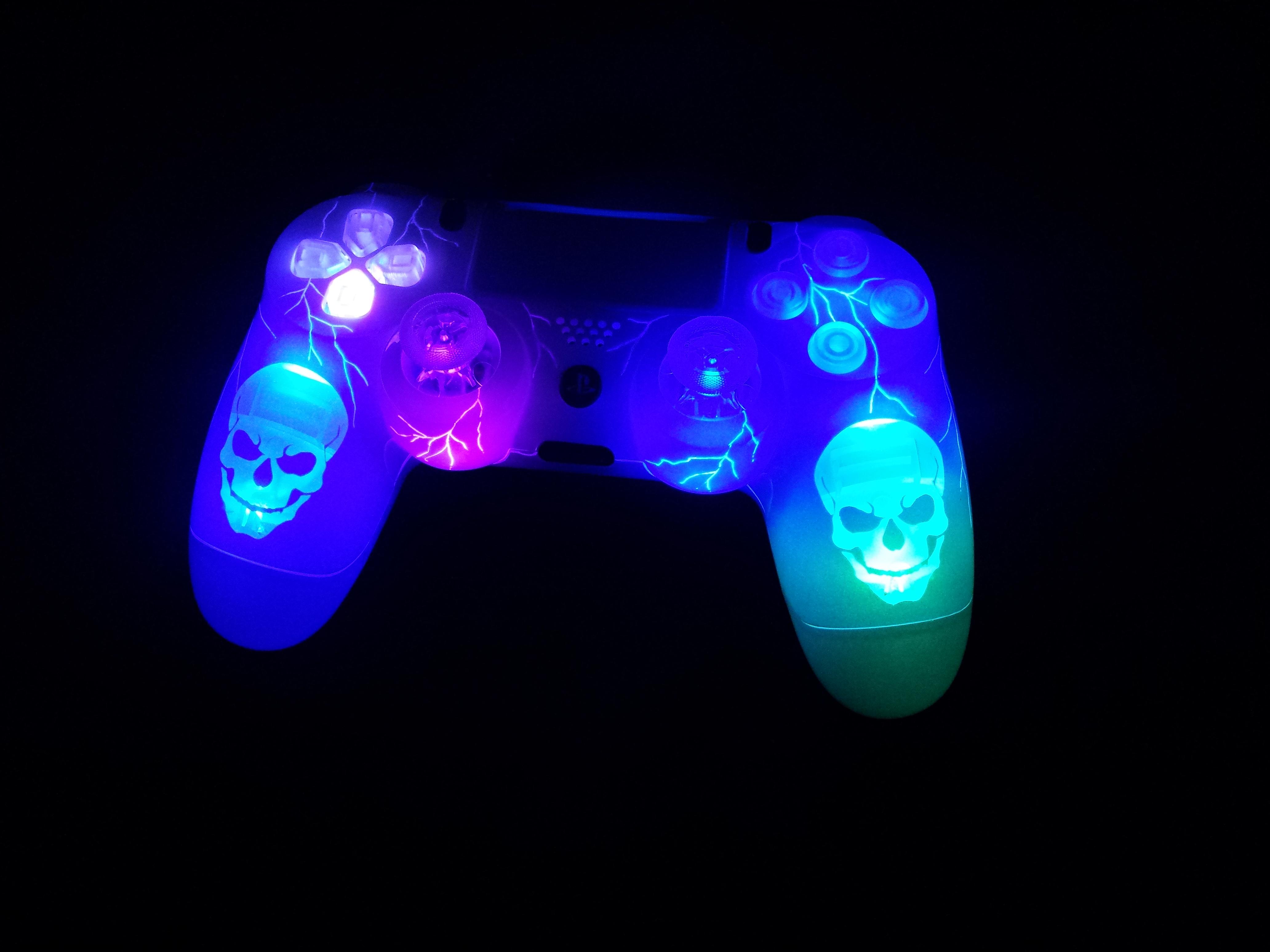 ps4 skull led