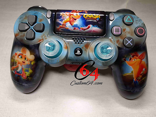 Manette PS4 Custom crash bandicoot 4