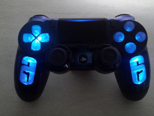 Manette PS4 Custom à l'aérographe !!! Dualshock 4 Sixaxis R6
