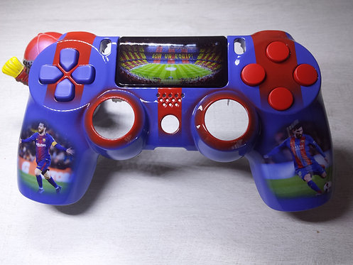 Coque Manette PS4 Custom à l'aérographe !!! Dualshock 4 Sixaxis ! Barcelone