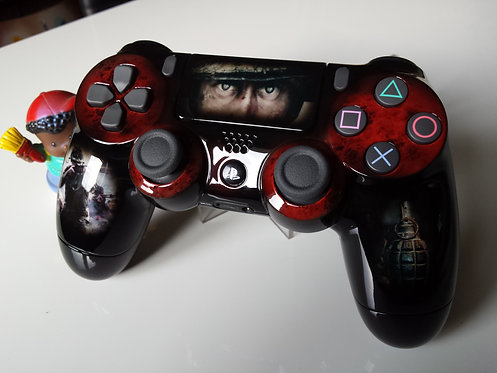 Manette PS4 Custom à l'aérographe !!! Dualshock 4 Sixaxis call of duty