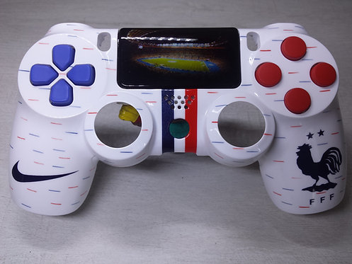 Coque Manette PS4 Custom à l'aérographe !!! Dualshock 4 Sixaxis ! France