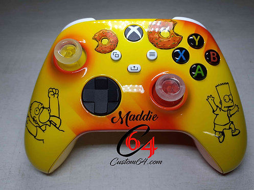 Manette XBOX ONE serie x les Simpsons