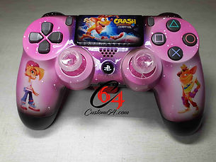 manette ps4 crash bandicoot 4