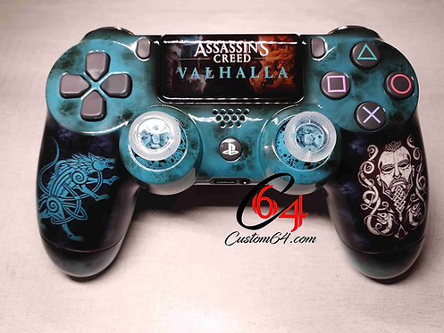 Manette PS4 sony Custom assassin's creed valhalla