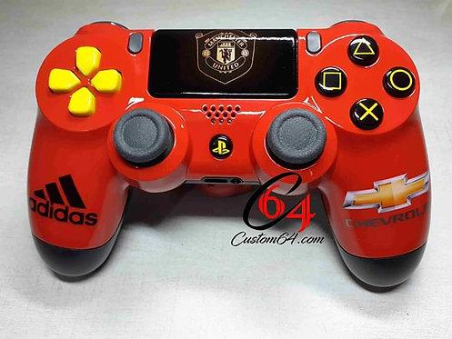 Manette PS4 sony Custom Manchester United