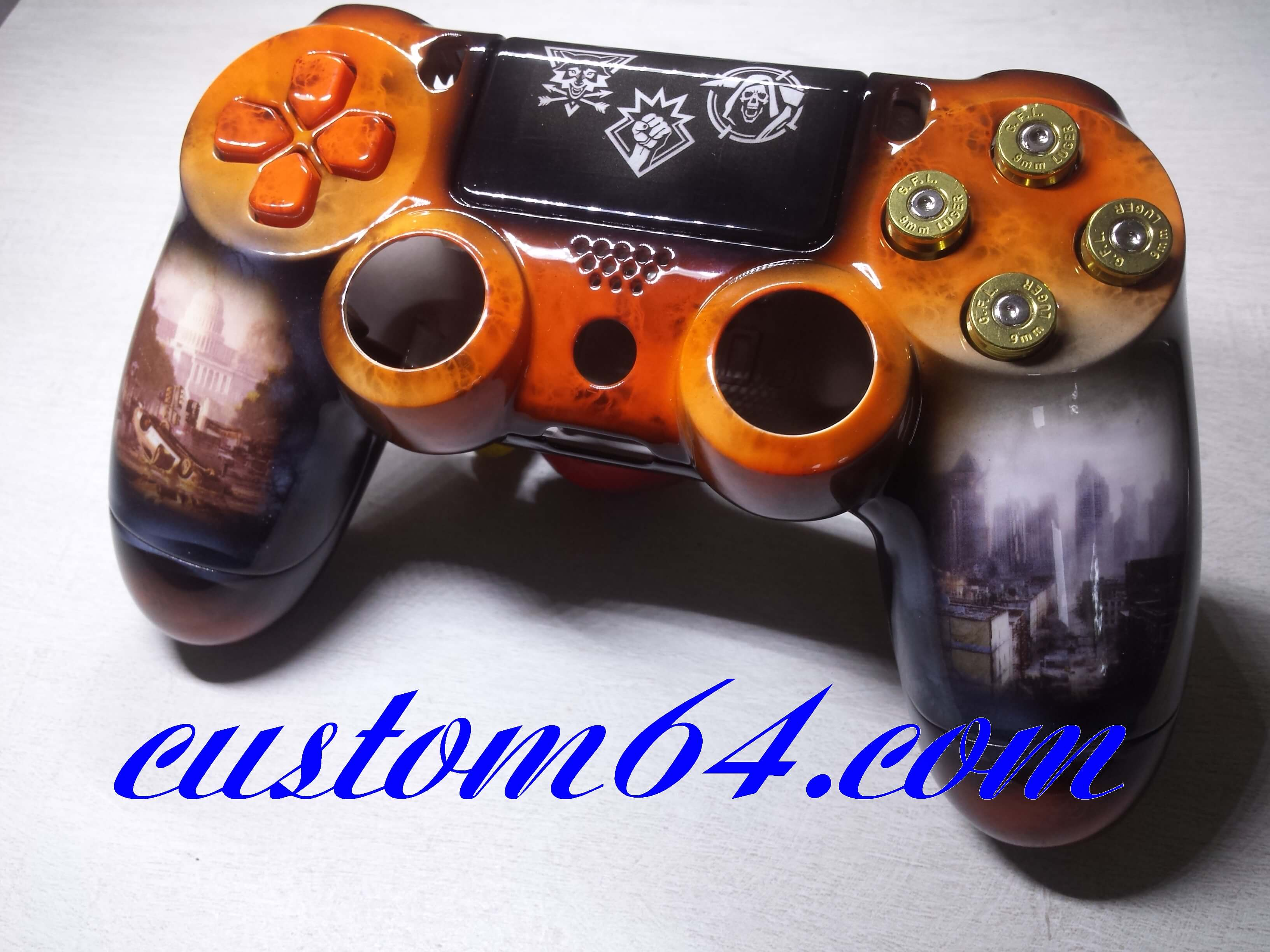manette ps4 custom the division 2