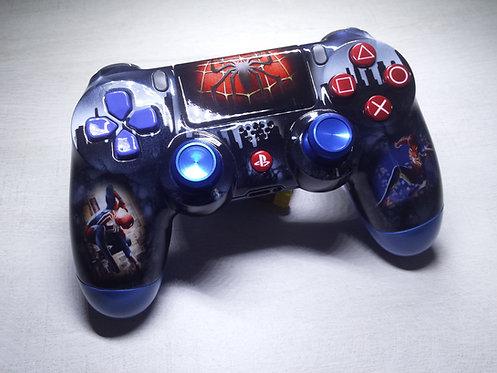 Manette PS4 Custom à l'aérographe ! Spider-Man