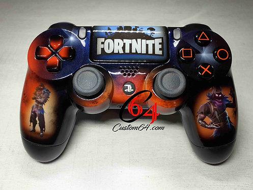 Manette PS4 Custom à l'aérographe !!! Fortnite