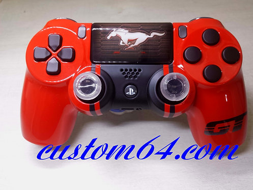 Coque Manette PS4 mustang GT