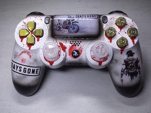 Manette PS4 Custom à l'aérographe !!! Dualshock 4 Sixaxis ! Days gone