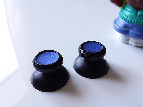 Joysticks pour PS4 XBOX ONE et PS3 ALU noir/bleu mate neuf