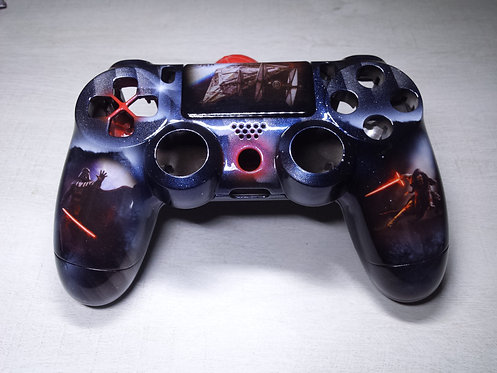 Coque Manette PS4 Custom à l'aérographe !!! Dualshock 4 Sixaxis ! star wars