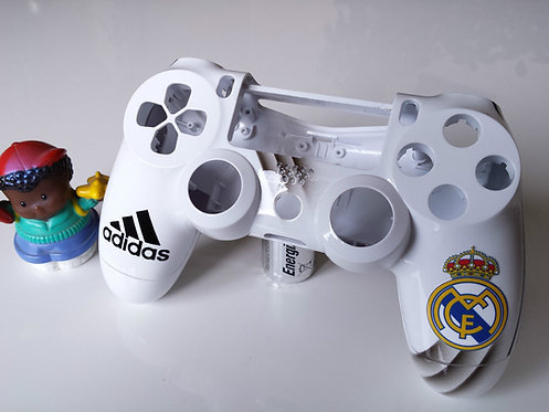Coque Manette PS4 Custom real madrid