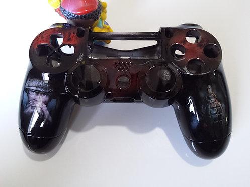 Coque Manette PS4 Custom à l'aérographe !!! call of duty ww2