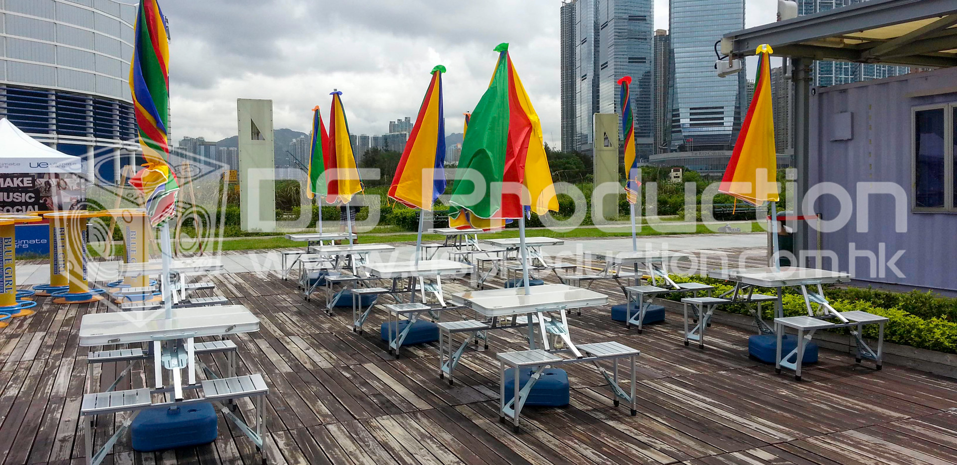 Outdoor Event Concert Furniture Rental