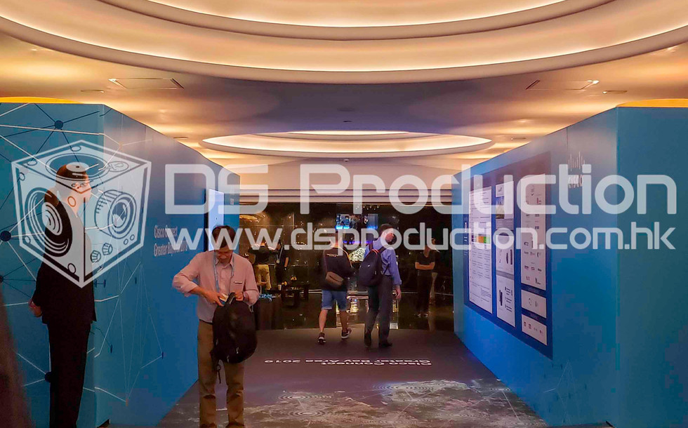 R8 Exhibition Booth Design Production