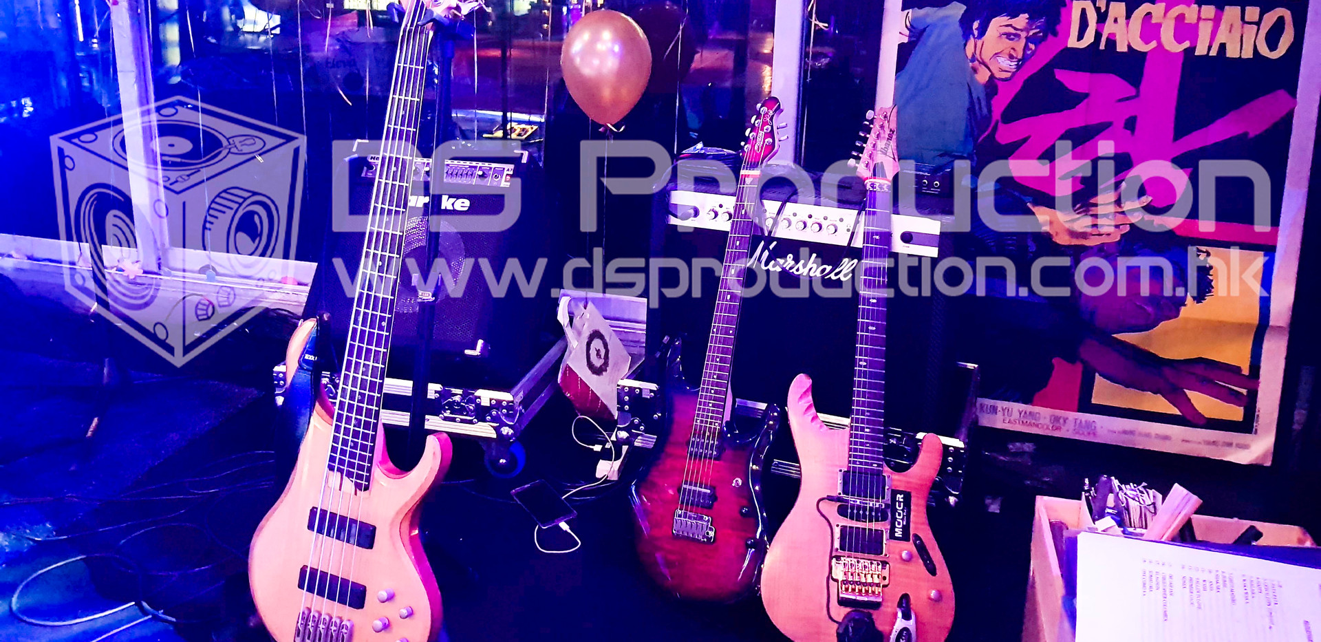 Live Band Show Music Instrument Rental