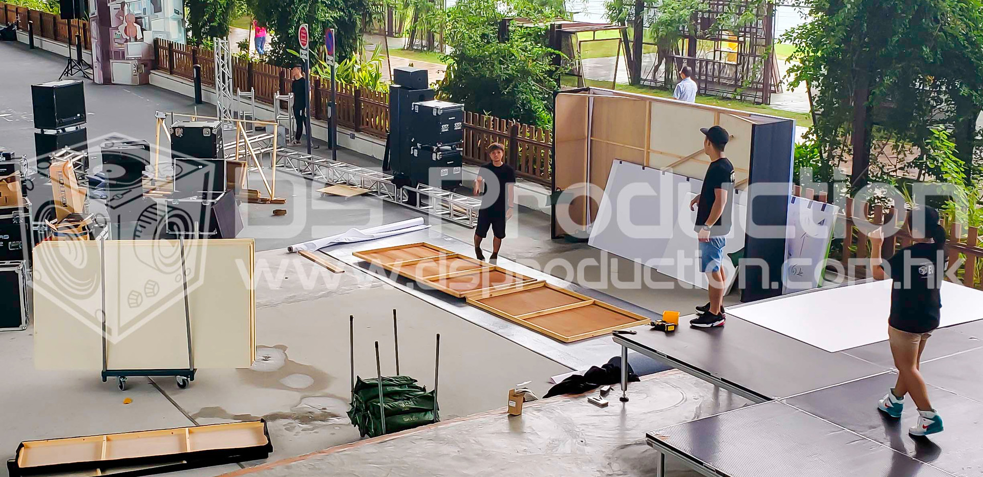 Outdoor Stage Construction