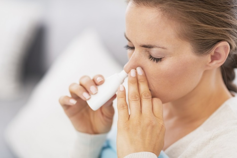 Nasal spray superior for treating hayfever