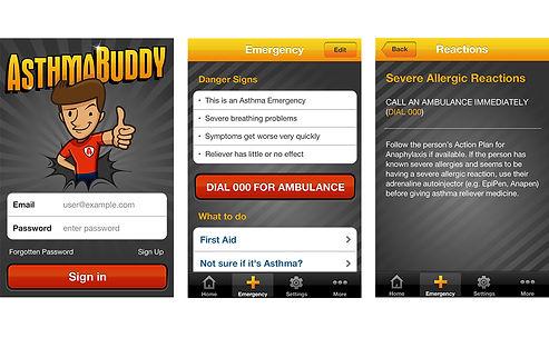 Asthma Buddy, asthma apps, apps, asthma