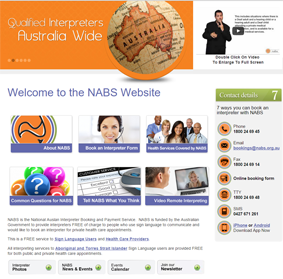 National Auslan Interpreter Booking and Payment Service