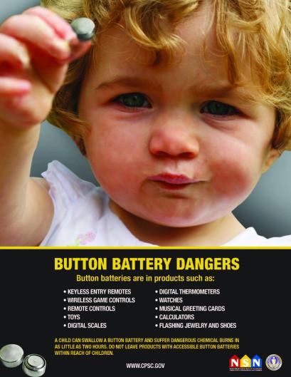 Button Battery Dangers
