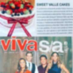 Sweet Valle Cakes na Revista