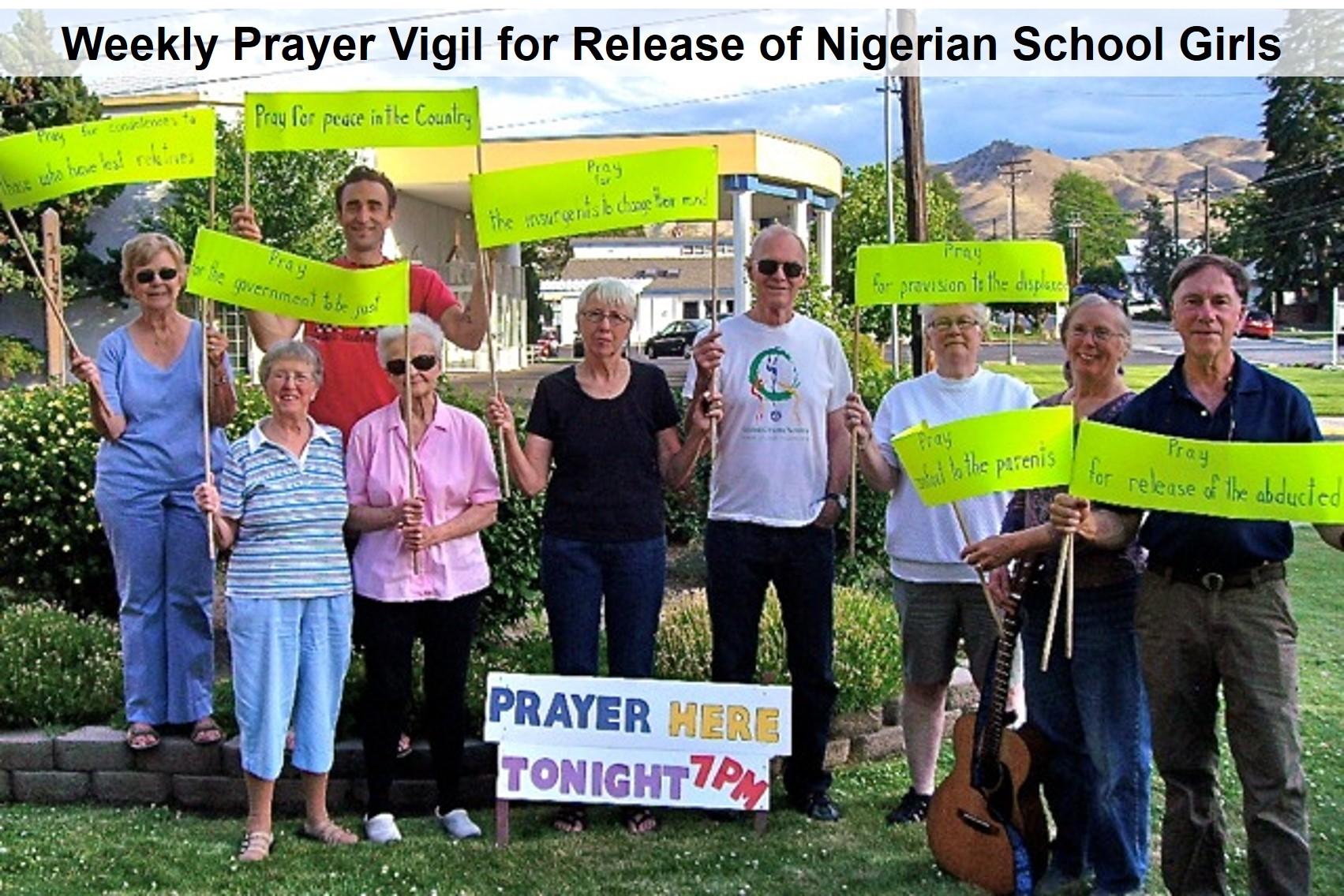 Weekly Prayer Vigil