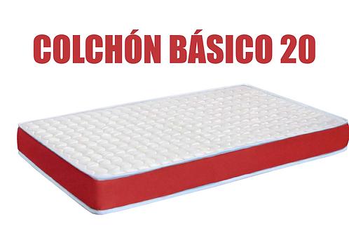 Colchón BÁSICO 20
