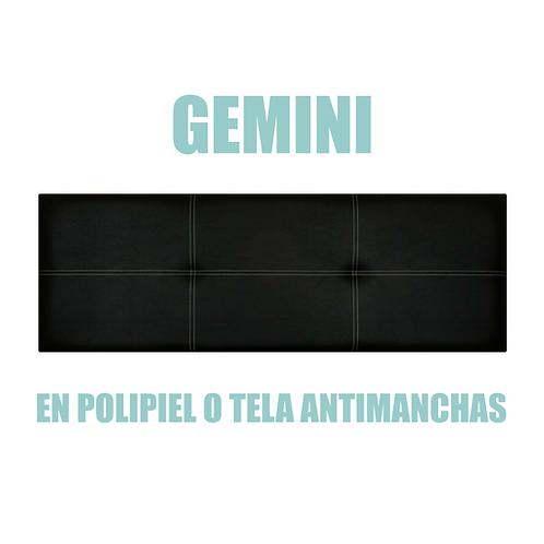 Cabecero GEMINI en polipiel o tela antimanchas