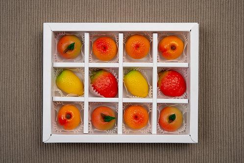 Конфеты Марципановые фрукты