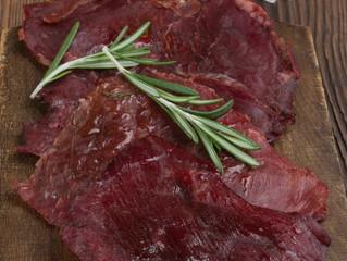 Алтайские чипсы - из мяса марала