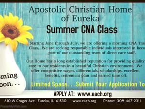 Summer 2021 CNA Class