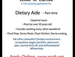 Daytime Part-time Dietary Aide