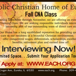 Fall CNA Class