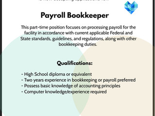 Payroll Bookkeeper