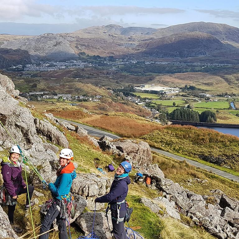 Women's Climbing Weekend - Rock Climbing Day - Saturday 3rd July