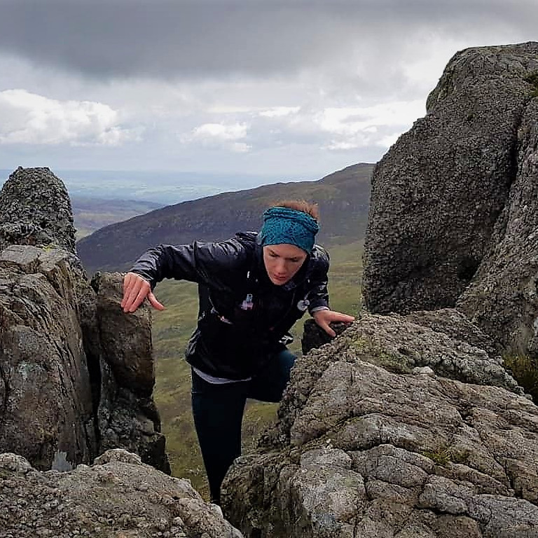 Scrambling Masterclass for Skyrunners, North Wales