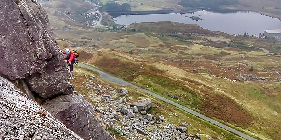 Multipitch Rock Climbing, 5 day Course, Snowdonia