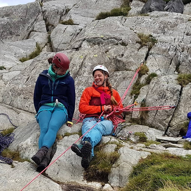 Women's Climbing Weekend - Intro to Lead Climbing - 4th July