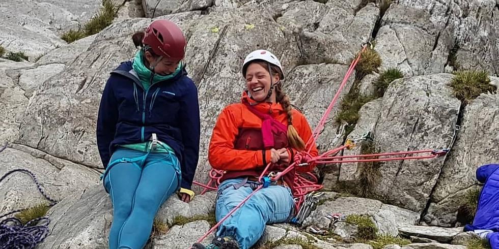 Women's Climbing - Intro to Lead Climbing - 17th October - Snowdonia