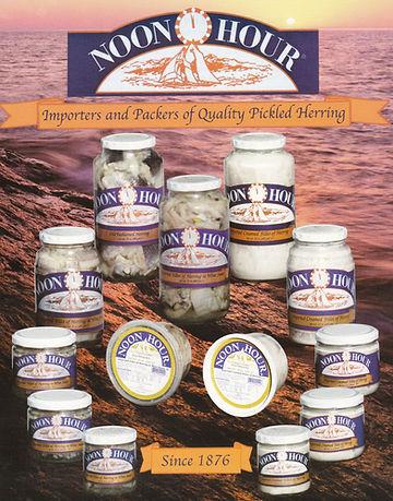 Noon Hour Foods, Pickled Herring, Swedish Herring, Marinated Herring
